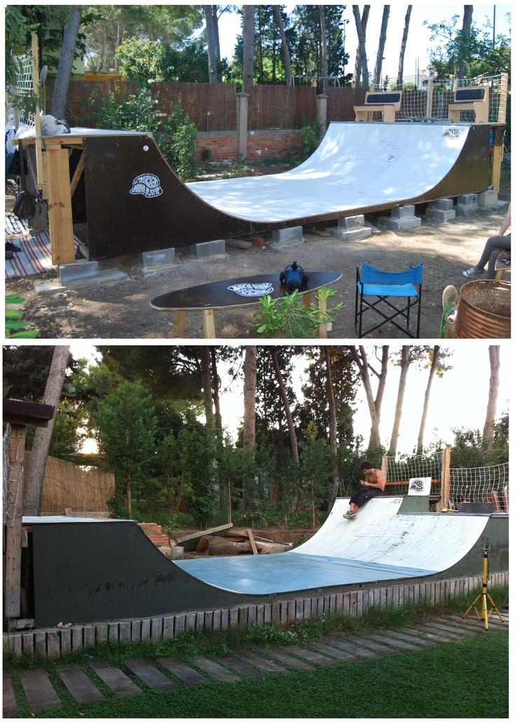 Backyard Skatepark Ideas : Trench la Trinchera Skatepark skatehome friends, skatepark Backyard