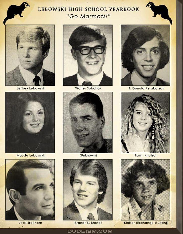 Jeff Bridges, John Goodman, Steve Buscemi, Julianne Moore, Sam Elliot, Tara Reid, Ben Gazzara, Philip Seymour Hoffman and Flea.https://fbcdn-sphotos-a-a.akamaihd.net/hphotos-ak-ash3/944149_491946217527034_1585425895_n.jpg