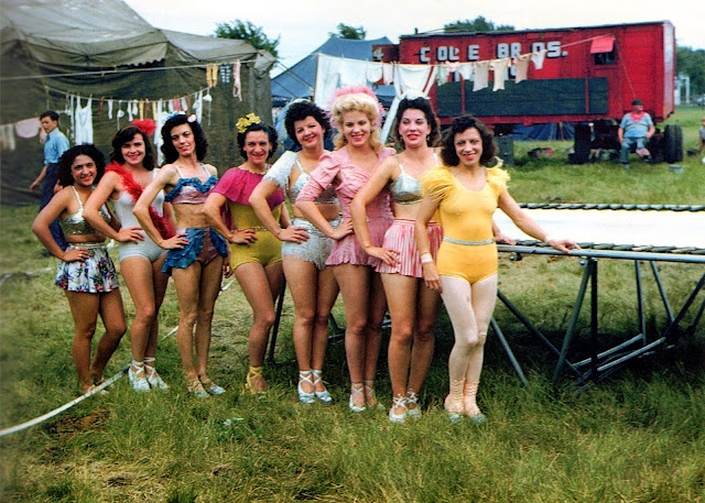 Circus Pictures from the 1940s-1950s