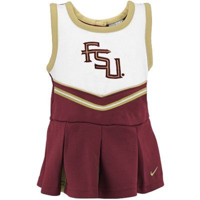 Nike Florida State Seminoles (FSU) Preschool Garnet Cheer Dress & Bloomers