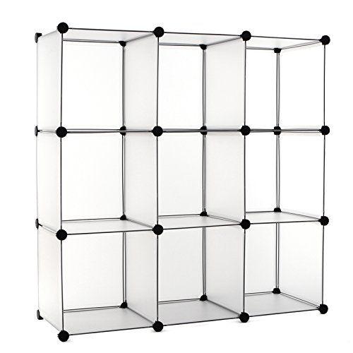 Songmics® Regalsystem DIY Cube Aufbewahrung Kleiderschran... Https://www.
