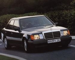 1985 Mercedes 300e.  This was a REAL Mercedes; an outstanding vehicle with that carved from a block of iron feel that I'm afraid we will never enjoy again.
