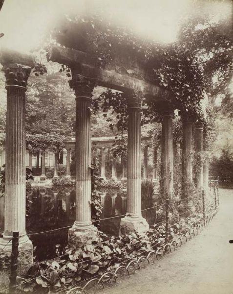 Eugene Atget - Parc Monceau