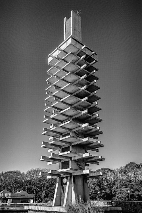 Komazawa Park Olympic Tower | Manuela Martin