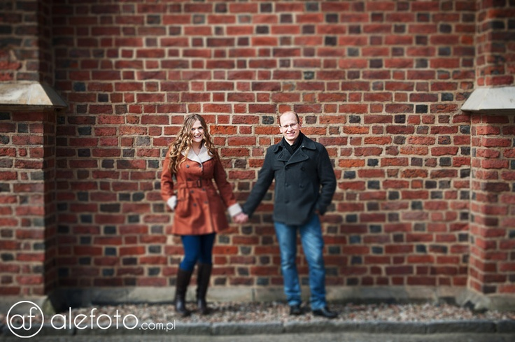 Ania i Michał, efekt tilt-shift