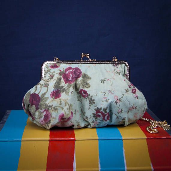 """MARIE ANTOINETTE"" a bag bay ""Lily Wallace INDEPENDENT LABEL""  www.lilywallace.com Boho Velvet Bag Roses Velvet Purses Vintage Gifts for Her"