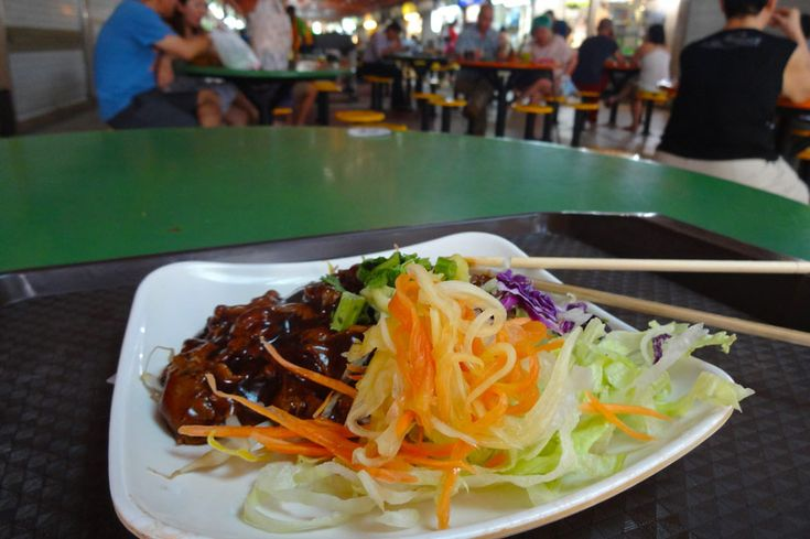If you're ever in Singapore, visit the Maxwell Food Centre in Chinatown for some authentic street food