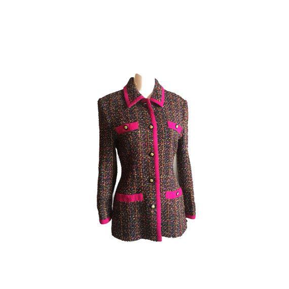 Vintage de la mujer chaqueta Vintage tweed por SallysSassyVintage
