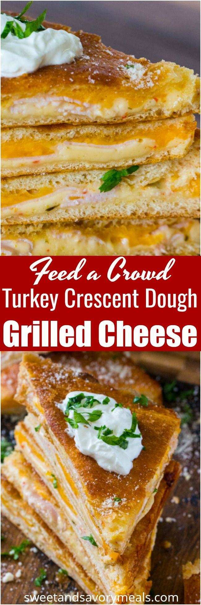 Baked Turkey Grilled Cheese made easy to cook in a…