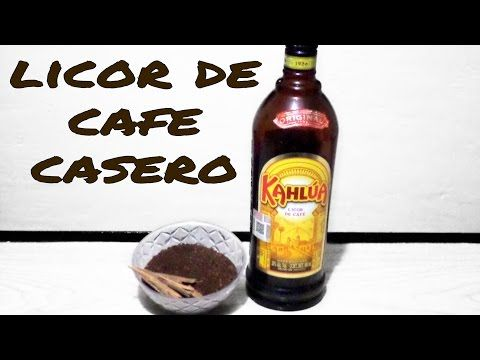 Licor De Cafe Casero/ Homade Kahlua - Tragos y Cócteles/Cocktails & Shots - YouTube