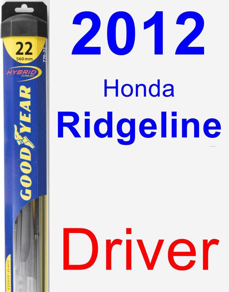 how to change wiper blades honda accord 2012