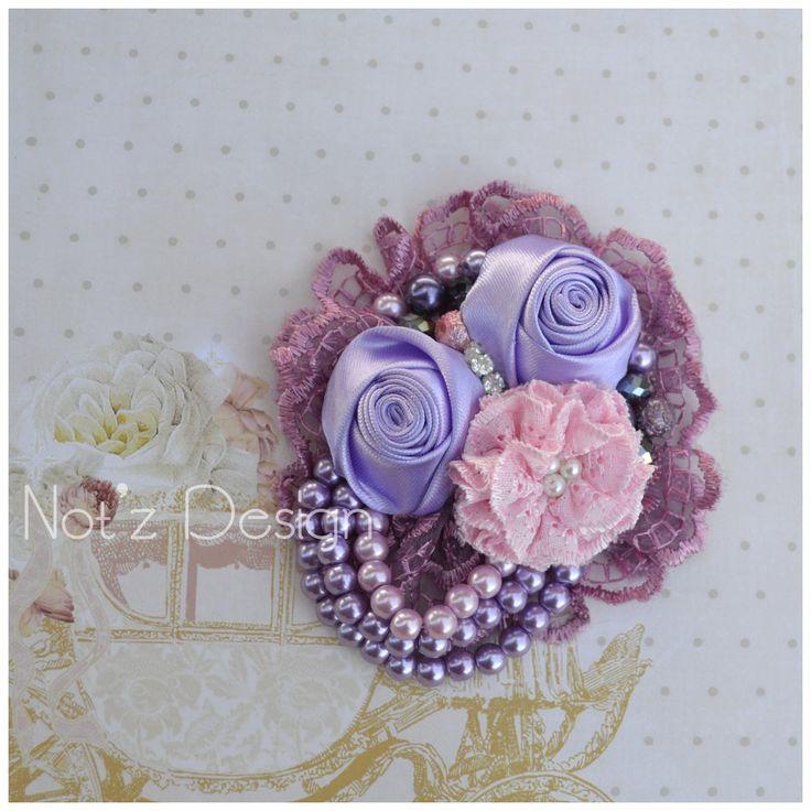 fabric flower, code : KS7 , order---->> line : notzdesign , WA : +82174424949