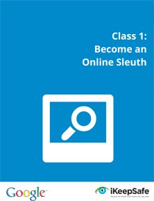 Google Digital Literacy and Citizenship Curriculum: The lesson plans are divided into three sections; becoming a digital sleuth, managing digital footprints, and identifying online tricks and scams. By Richard Byrne.