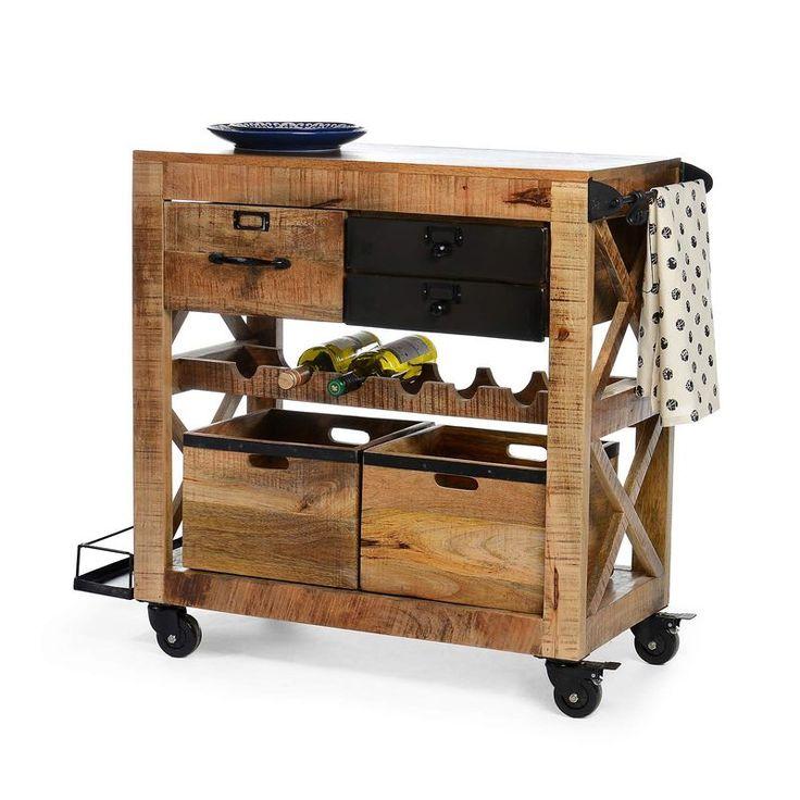 die 25 besten ideen zu servierwagen holz auf pinterest servierwagen f r drau en grill. Black Bedroom Furniture Sets. Home Design Ideas