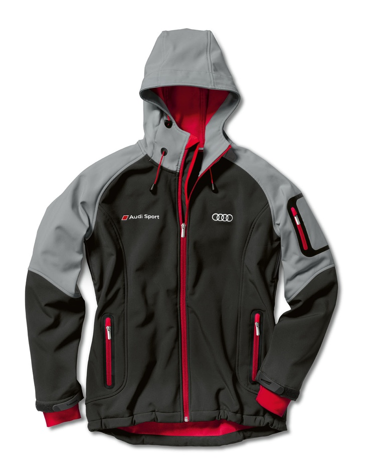 Women's soft shell jacket.    Available from: http://www.m25audi.co.uk