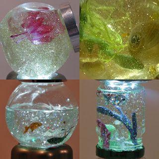 Pomysły plastyczne dla każdego DiY - Joanna Wajdenfeld: Magiczne akwarium