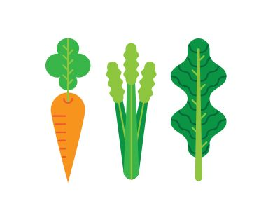 I'll be drawing a bunch of veggies and spices and stuff today, so I'm very excited!   Here's a carrot, some celery, and kale (ew).