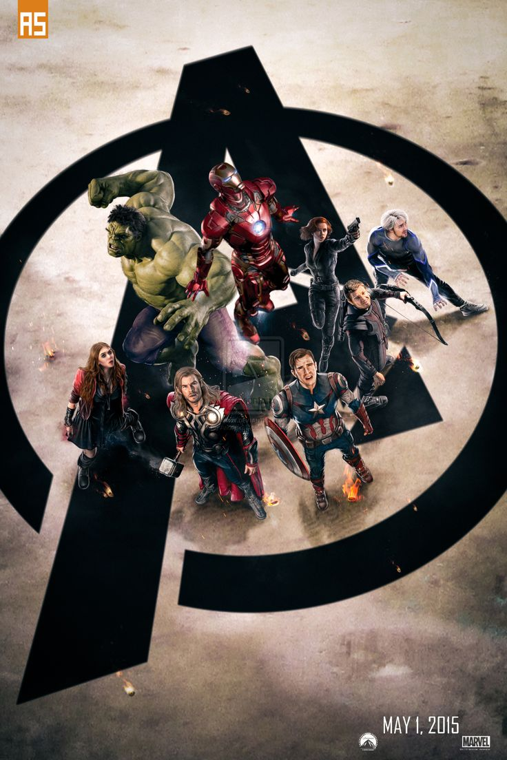 ''The Avengers: Age of Ultron'' poster by AndrewSS7.deviantart.com on @deviantART