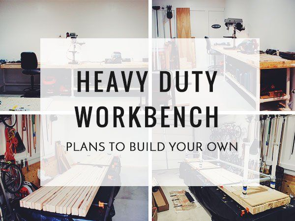 In this post, we'll cover Cliff's heavy duty workbench and show you how you can create your own