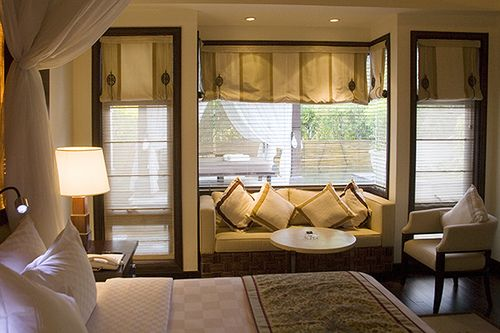 Window seat...love the operable side windows and bumped out seat w/ glass.