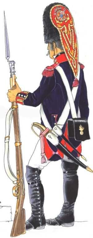 Regno di Spagna - Granadero de infantería de marina 1808