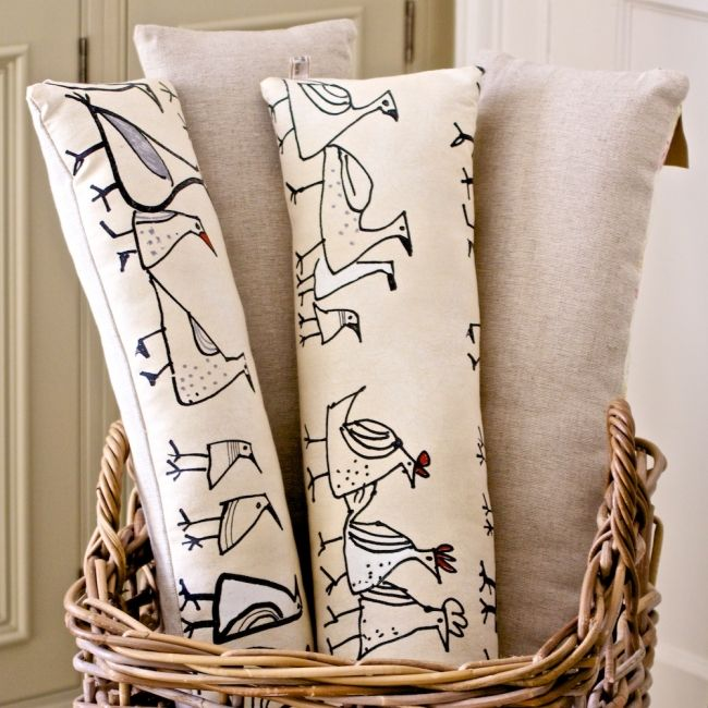 Draught Excluder - Funky Chickens