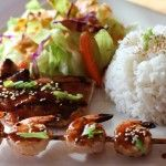 Teriyaki Surf and Turf Donburi