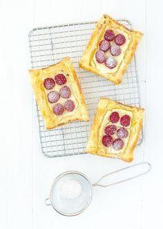 Frambozentaartjes #raspberry tarts