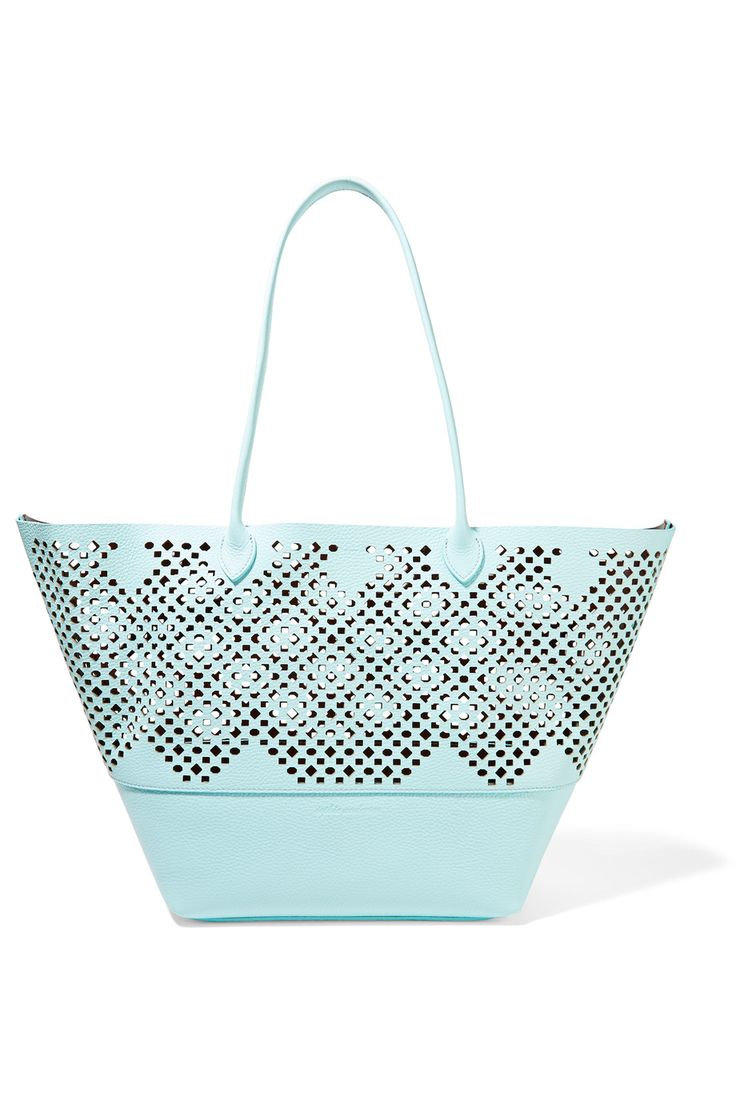 SOPHIE ANDERSON Brenna laser-cut textured-leather tote€615