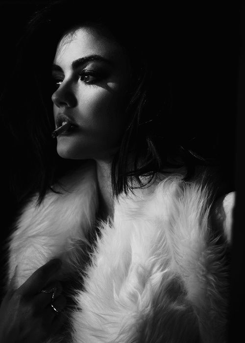 Lucy Hale for V Magazine. Photographer: James Lee Wall