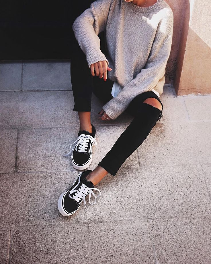 Best 25+ Vans outfit ideas on Pinterest | Black vans outfit White vans outfit and Vans outfit girls