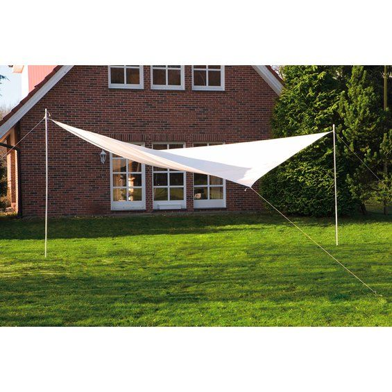 OBI Quadrat-Sonnensegel Weiß 400 cm x 400 cm im OBI Online-Shop