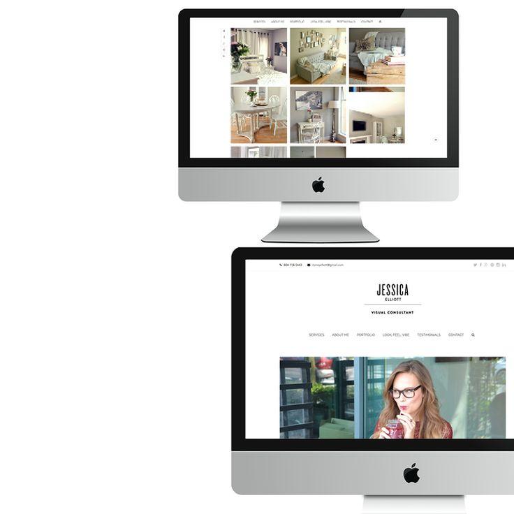 Jessicaelliott.ca website - logo designed by kevan Dagostino