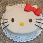 Torta de cumpleaños de Hello Kitty