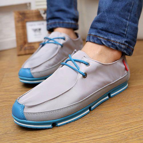 New England мужчины оксфорды лето мода свободного покроя мужчин большой размер обувь квартиры мужчины ленивый лодка обуви череп оксфорды A143