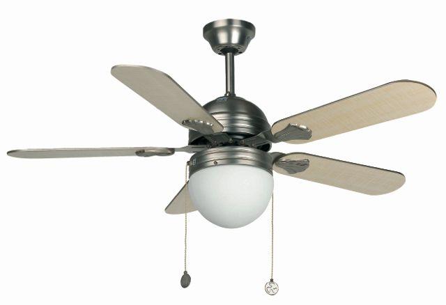 Ventilador de techo con luz Gris #ventiladores #decoracion #verano #climatizacion #calor #ventilacion #diseño #aire