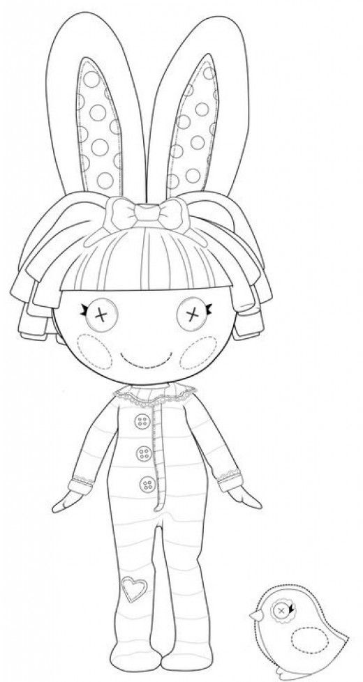 lalaloopsy - Lalaloopsy Coloring Pages
