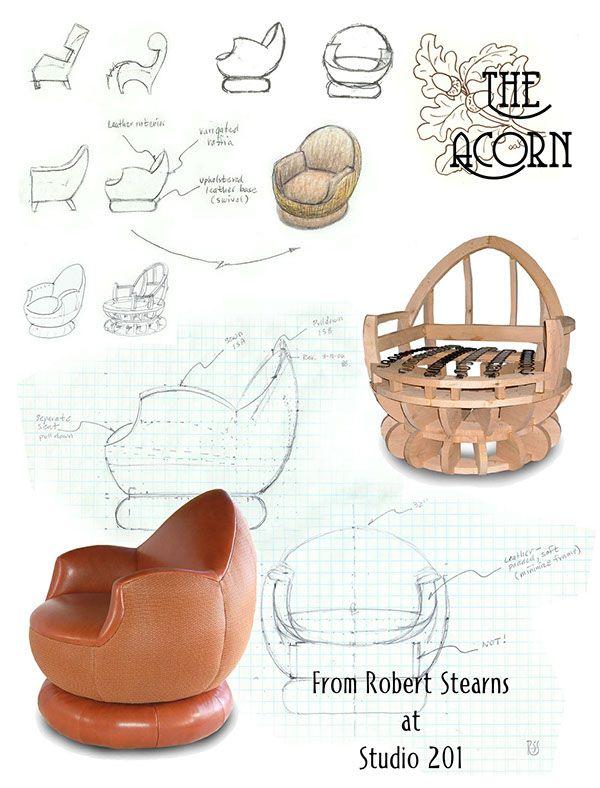 Genius design - The Acorn Chair