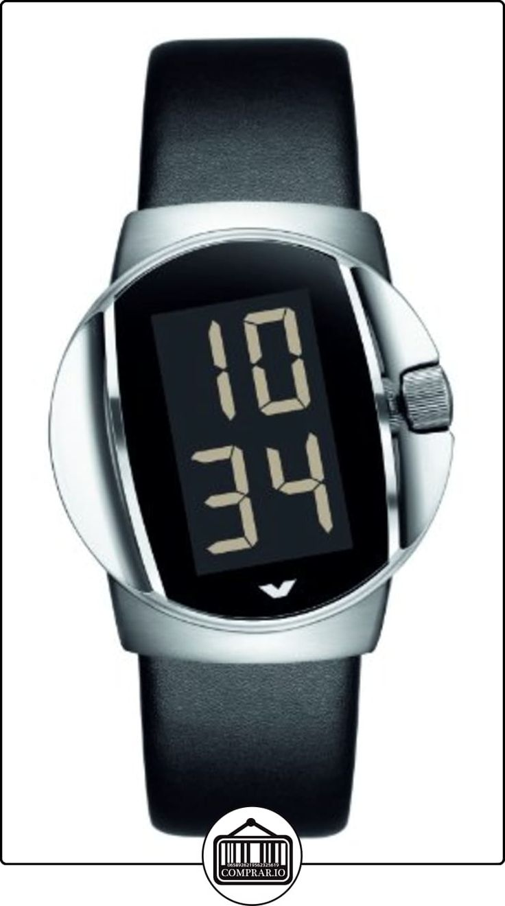 Ventura W12R1 - Reloj digital automático para hombre, correa de goma color negro  ✿ Relojes para hombre - (Lujo) ✿