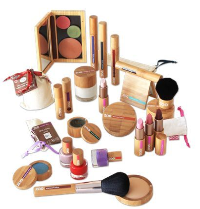 ZAO makeup. 100% natural and cruelty-free. Love the refillable bamboo packaging!