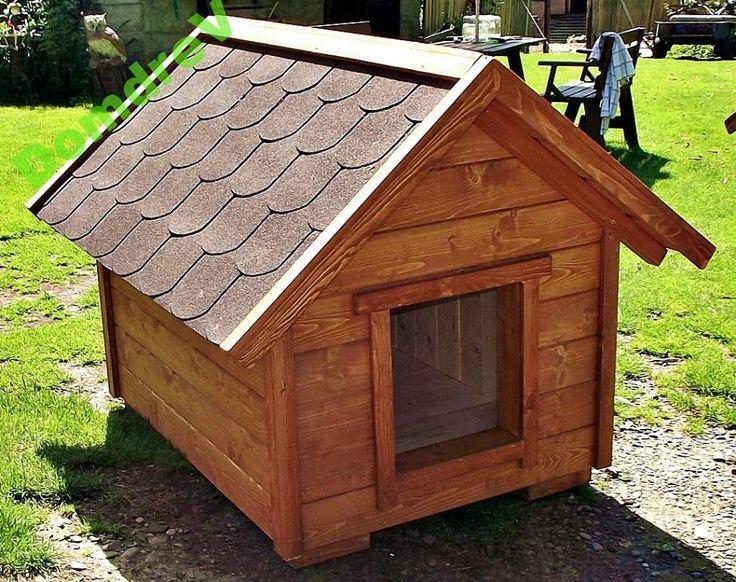 budy dla psa z drewna drewniana buda OCIEPLANA XXL (6218578092) - Allegro.pl - Więcej niż aukcje.