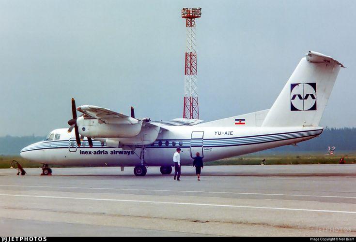 Photo of YU-AIE - De Havilland Canada DHC-7-102 Dash 7 - Inex-Adria Airways