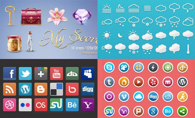 25 Free / gratis Professionele Iconen voor grafische ontwerpers en Web Designers - Download Nu