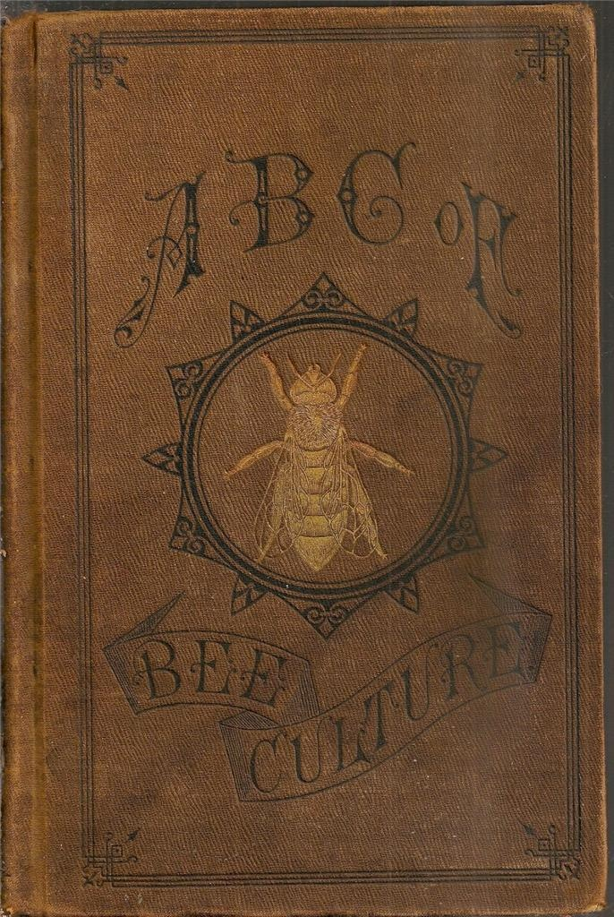 1888 Beekeeping book.
