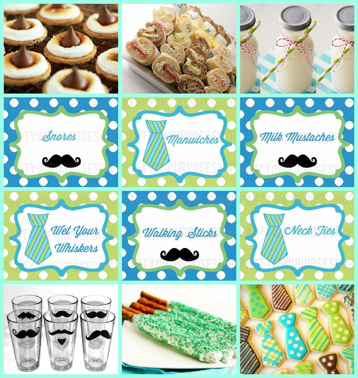 Free Printableslittle Man Mustache Party | Little Man Mustache Bash Party Week: Food and Drink | Party on Purpose