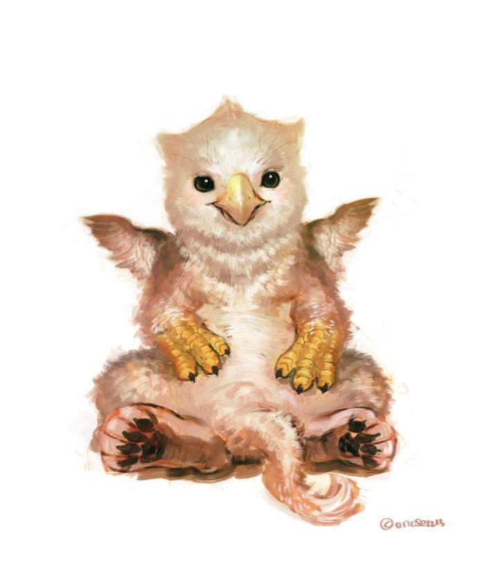 Pixiv - Baby Griffin