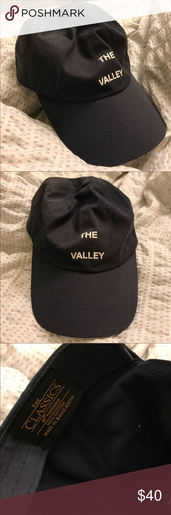 ANTISOCIAL SOCIAL CLUB The valley hat 100% Authentic ASSC the valley hat. Bought directly from the website. Color is navy blue. Anti Social Social Club Accessories Hats