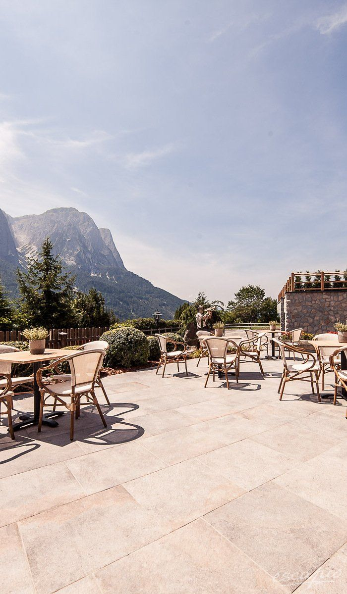 Hotel with a view! Sonus Alpis in Kastelruth / Castelrotto. Trentino Alto Adige. Italy