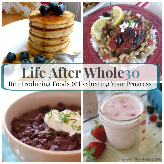 Life After Whole30: How to Evaluate Your Progress and Reintroduce Foods - The Nourishing Home