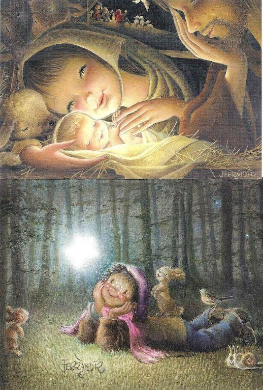 Navidad Ferrandiz colección Navidad Cards Illustration IMÁGENES Art Illustration